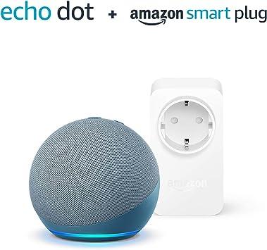 Der Neue Echo Dot 4 Generation Blaugrau Amazon Smart Plug Wlan Steckdose Funktionert Mit Alexa Alle Produkte
