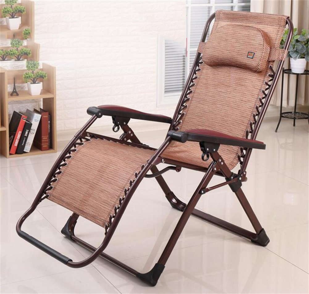 Mode Folding Recliner Alter Mann Nap Break Chair Multifunktions Tragbare Office Home Balkon Freizeit Stuhl Sitz