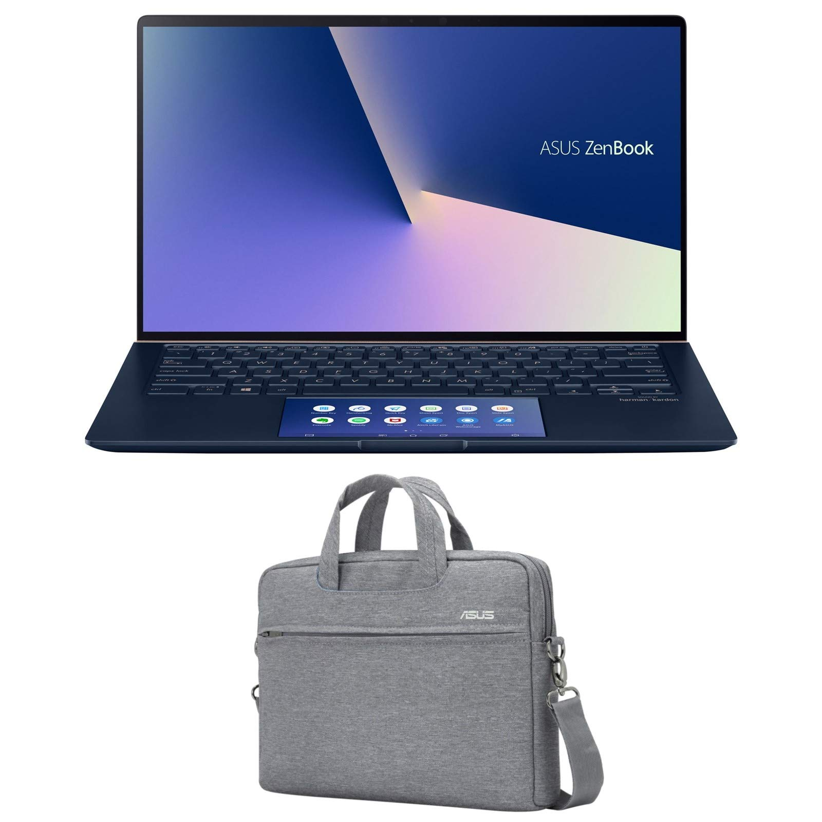 "ASUS ZenBook 14 UX434FL-DB77 (i7-8565U, 16GB RAM, 1TB SATA SSD, NVIDIA MX250 2GB, 14"" Full HD, Windows 10 Pro) Laptop"