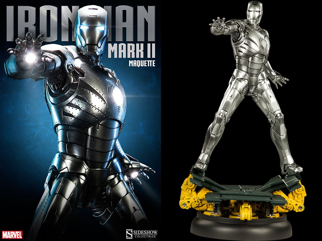 Sideshow Iron Man Mark II Figura, 747720223684, 66 cm