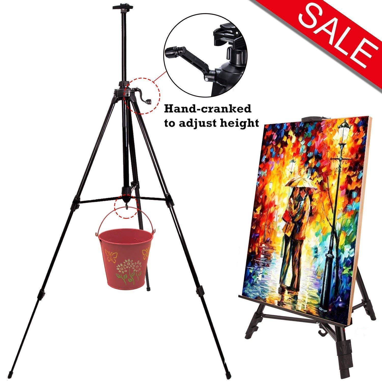 art tripod easel stand display easels adjustable lightweight