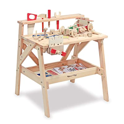 Melissa & Doug Wooden Project Workbench: Melissa & Doug: Toys & Games