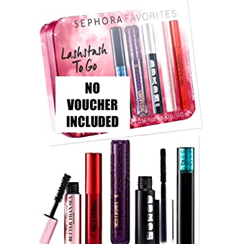 4139b1641a8 Amazon.com : Sephora Favorites Lashstash To Go Mini Mascara Set No Voucher  Included : Beauty