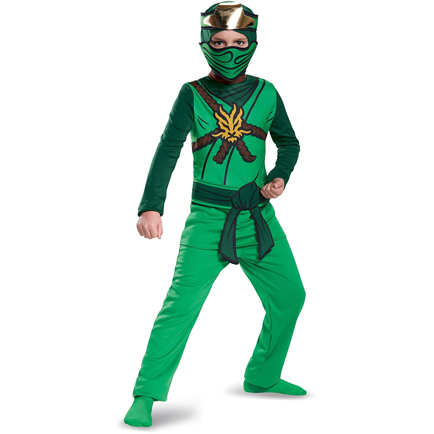 Lego Ninjago Lloyd Costume, Boys size Small, 4-6