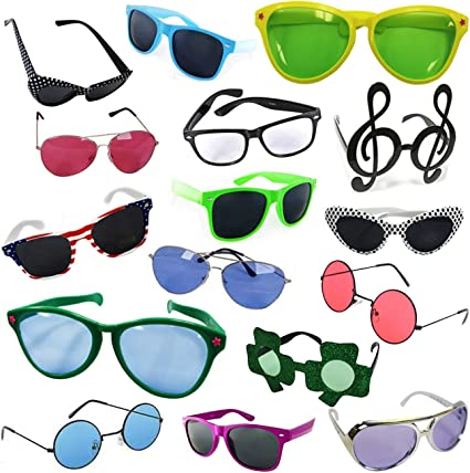 Assorted Novelty Party Sunglasses Glasses Costume Beach Party Cocktail Props
