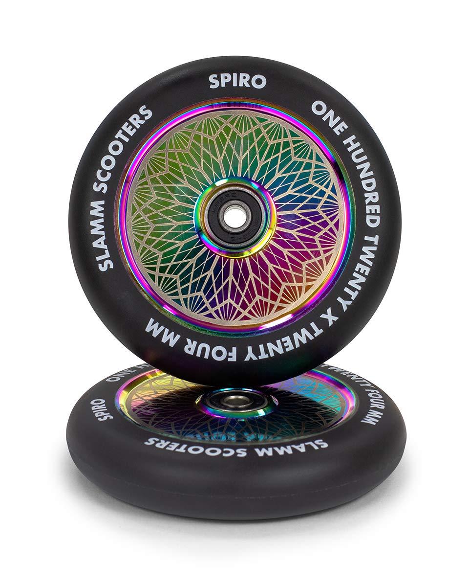 Slamm Scooters Neochrome Spiro Hollow Core Ruedas de ...