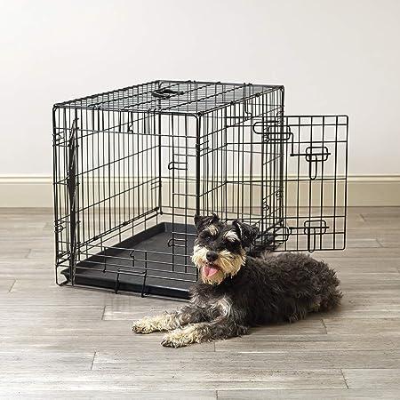 Pet Sentinel Metal Foldable Pet Crate