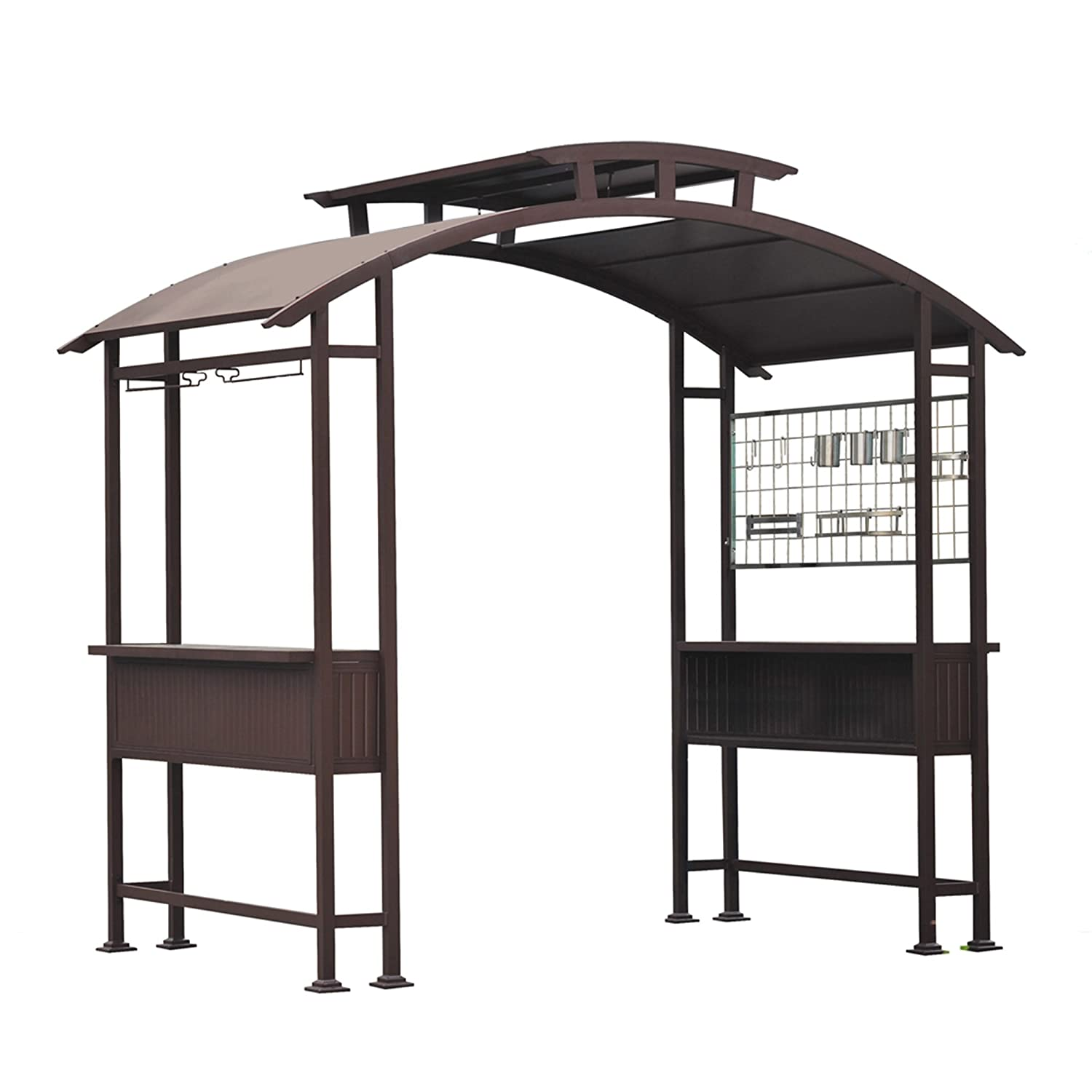 Amazon Sunjoy Mouton Grill Gazebo Garden Outdoor