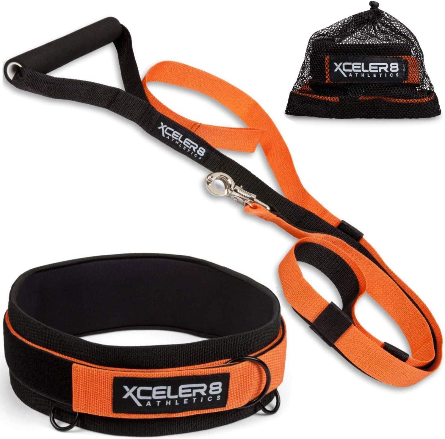 Resistance Bungee Band Adjustable Neoprene Belt Running Training Workout Speed