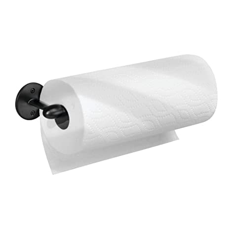 InterDesign Orbinni Porta rollo | Portarrollos de pared para un rollo | Sencillo soporte para papel