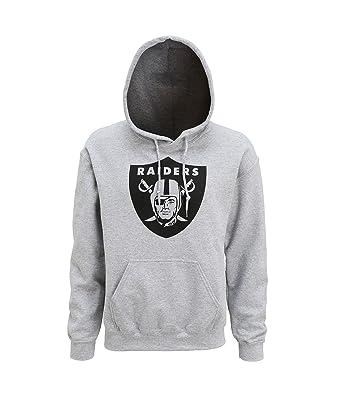 Official Oakland Raiders grande Logo sudadera con capucha: Amazon.es: Ropa y accesorios