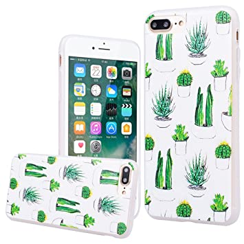 9ba0a38a4ef WE LOVE CASE Funda iPhone 7 Plus / iPhone 8 Plus, Ultra Fina Slim Suave Funda  iPhone ...