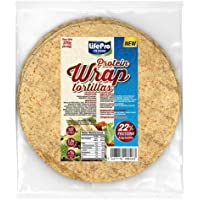Life Pro Fit Food Protein Wrap Tortillas Proteicas 8x40g | 8,8g de proteína por cada tortilla | Tortilla mejicana con un…