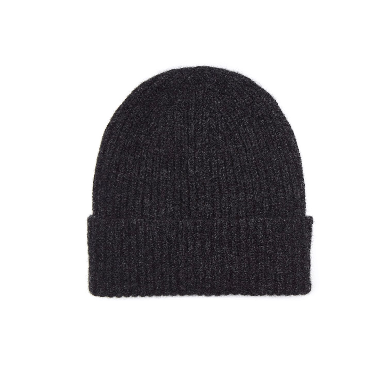 100% Cashmere Unisex Beanie Hat by Lona Scott | Made in Scotland Navy