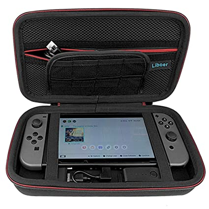 pretty nice cc863 9275f Amazon.com: Case for Nintendo Switch, Yocktec Portable Travel ...