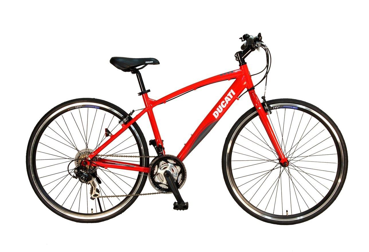DUCATI(ドゥカティ) 21段変速付クロスバイク TDX-721 レッド B01LPFK882