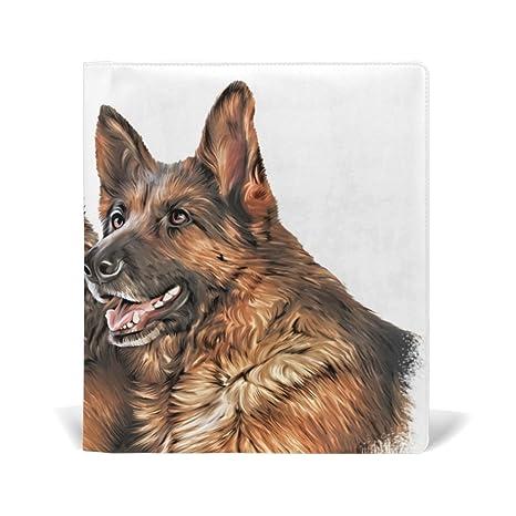 Amazoncom Lorvies Drawing Dog German Shepherd Book Sox Stretchable - German-shepherd-drawings