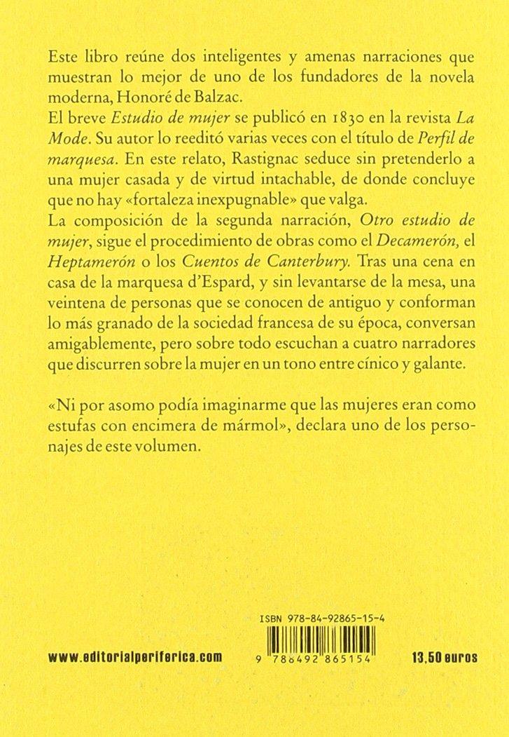 Mujeres lo bastante ricas: Honoré de ; Lozano González, Wenceslao Carlos Balzac: 9788492865154: Amazon.com: Books
