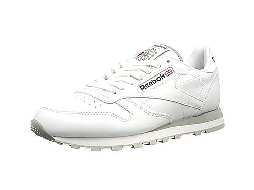 Reebok Classic Leather - Zapatillas de cuero para hombre: Reebok: Amazon.es: Zapatos y complementos