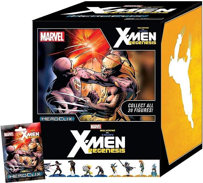 HEROCLIX X-Men Regenesis 107 WOLVERINE Promo OP LE
