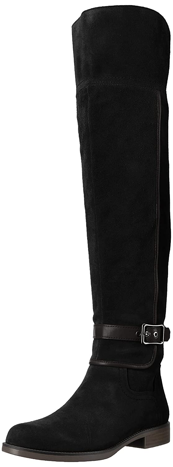 Franco Sarto Women's Crimson Over The Knee Boot B072BMRFCY 6 B(M) US|Black