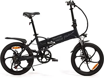 Bicicleta ELECTRICA Plegable Mod. Traveller (Platinum): Amazon ...