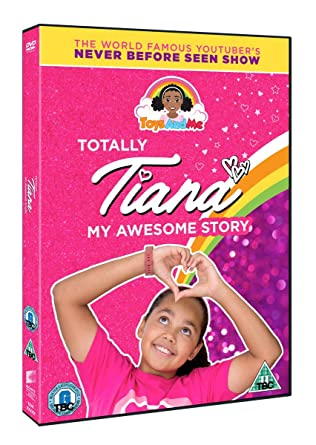 Totally Tiana My Awesome Story Toys And Me Dvd Amazon Co Uk Dvd