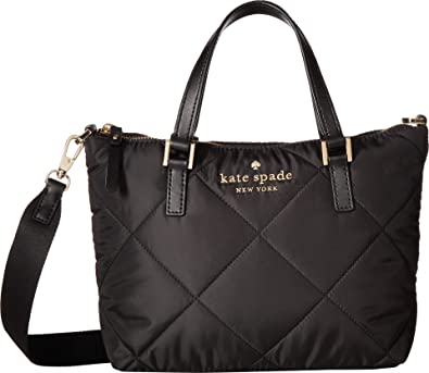 Amazon.com  Kate Spade New York Women s Watson Lane Quilted Lucie Crossbody  Black One Size  Shoes 68363c993bb0a