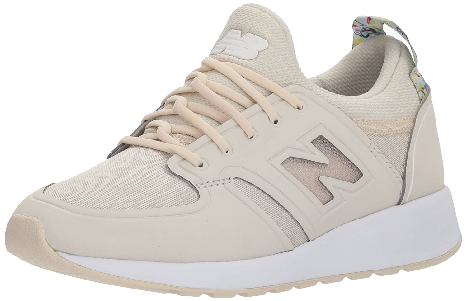 New Balance Women's 420 Sneaker B06XX8XXHJ 55 B US|Moonbeam/Solar Pink