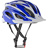 Leadtry HM-3 Bike Helmet Ultralight Integrally Molded EPS Bicycle Helmet Safety Helmet Specialized for Road/ Mountain Terrain Bicycle with Comfortable Removable Washable Antibacterial Pads