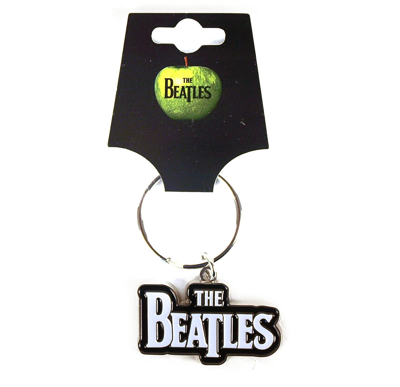 The Beatles Logotipo oficial Drop T Logo Llavero de metal ...