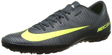 c5e5a4d8cab3 Nike Mens MercurialX Victory VI CR7 TF Non Marking Glitter Soccer Shoes