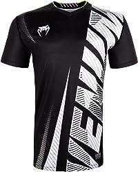 Venum Men's Galactic 2.0 Carbon Dry Tech Tee Shirt Black