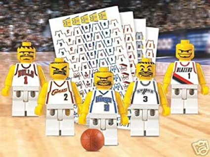 Lego Basketball NBA Teams