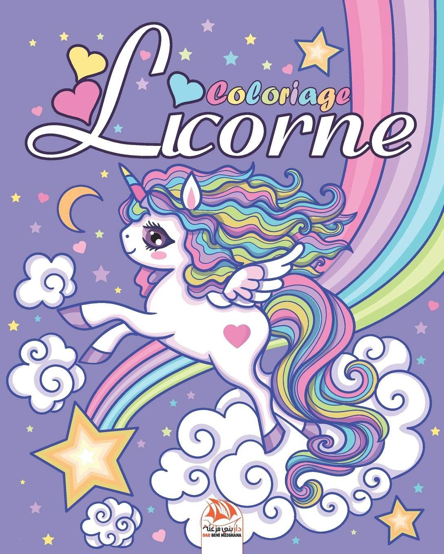 Licorne Livre De Coloriage Pour Les Enfants De 4 A 12 Ans