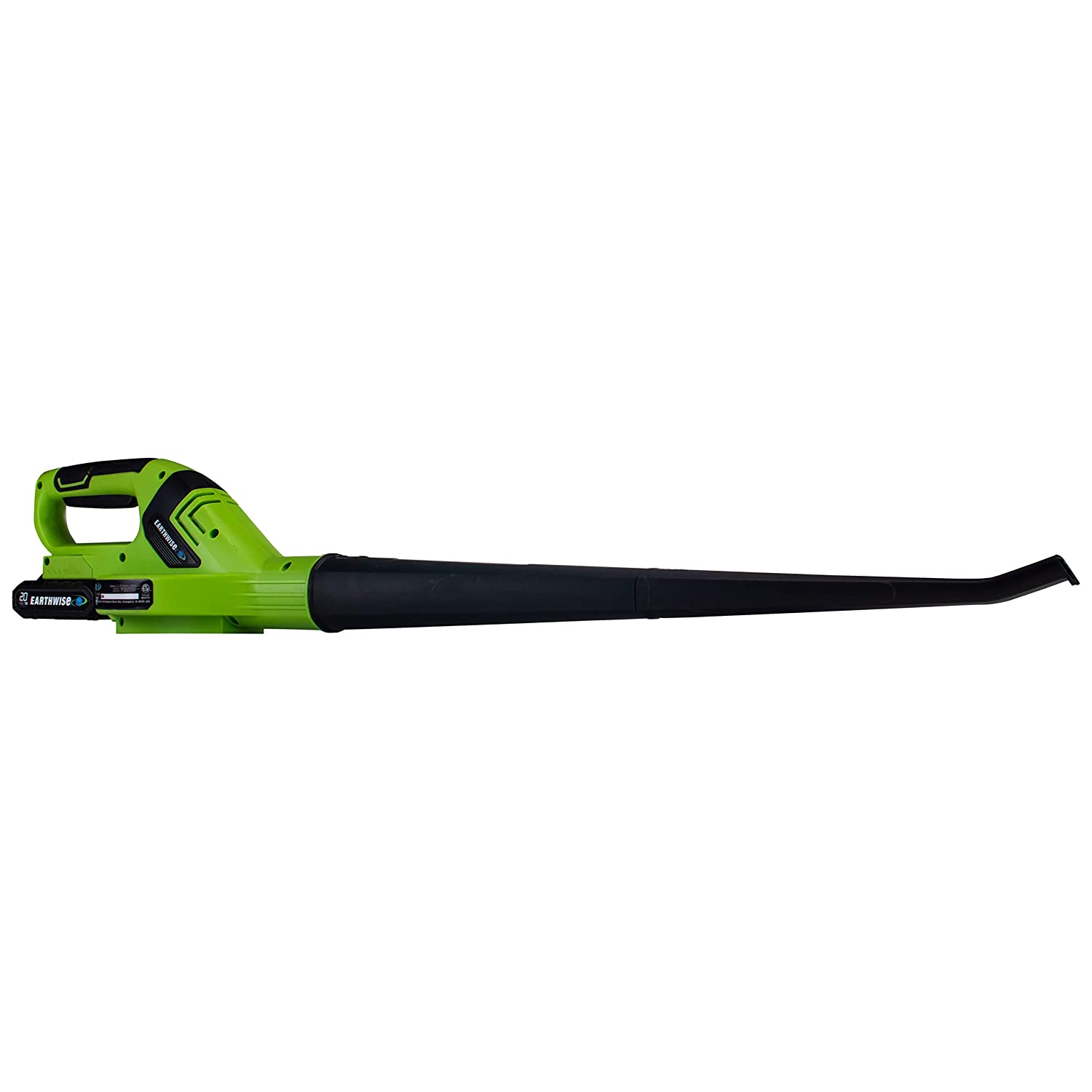 Earthwise LB21020 20-Volt 150MPH Cordless Blower, 2.0AH Battery Fast Charger Included