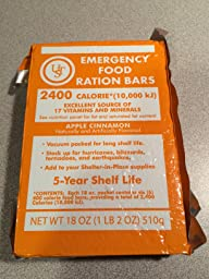 Ust core long term 5 year shelf life 2400 for Food bar emergency