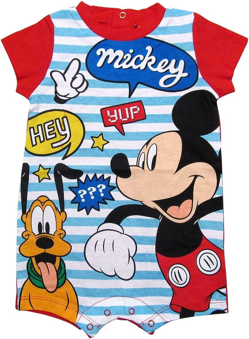 Mickey Mouse und Pluto Strampelanzug Kurz Disney