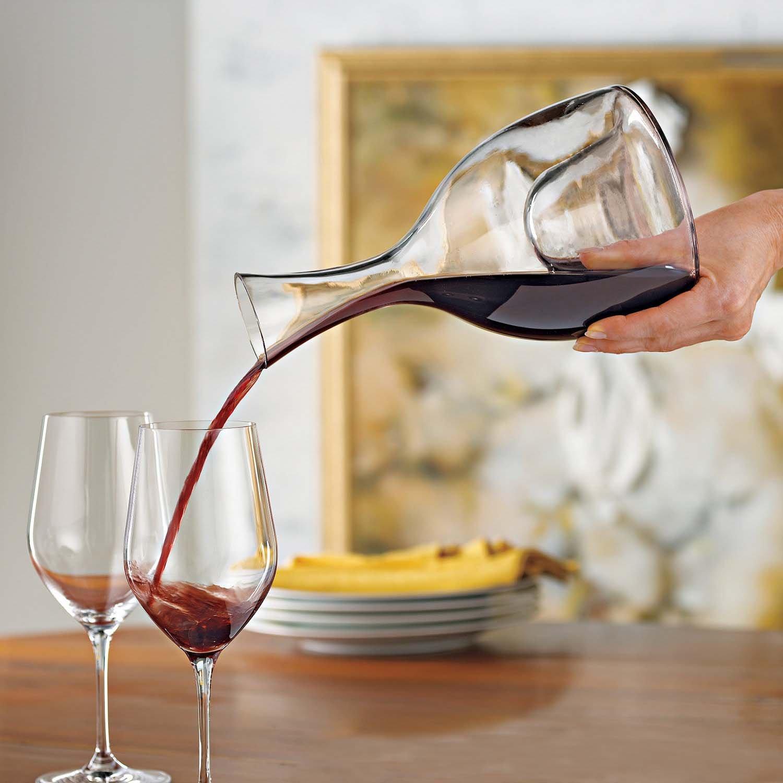 Wine Enthusiast Visual Wine Decanter 48 Oz