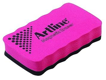 Artline - Borrador magnético para pizarra blanca, color rojo ...