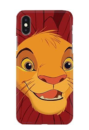 43789d88165 Carcasa para iPhone XS MAX Lion King Simba Mufasa Scar Timon Pumbaa Disney  20 Diseños: Amazon.es: Electrónica