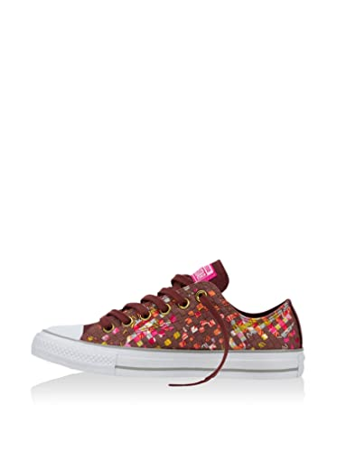 b05ecec39c5e LADIES WOMENS GIRLS CONVERSE PRINTED WOVEN ALL STARS CHUCK TAYLOR TRAINERS  SHOES (UK 7