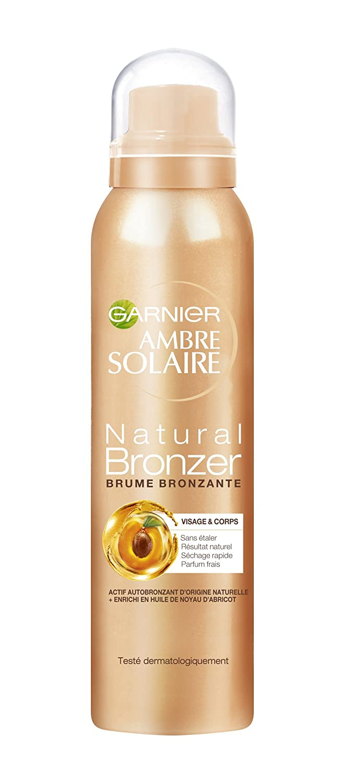 Garnier Ambre Solaire Natural bronzeur foschia Bronzante Viso & Corpo 150ml