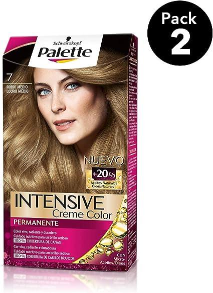 Palette Intense - Tono 7 Rubio Medio Toffee - 2 uds ...