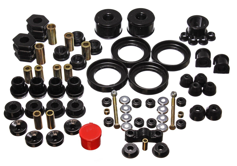 Amazon.com: Energy Suspension 16.18110G Bushings - Energy Suspension  Hyperflex Bushing Kits Bushing Kit - Polyurethane - Black - Honda - Civic -  Kit: ...