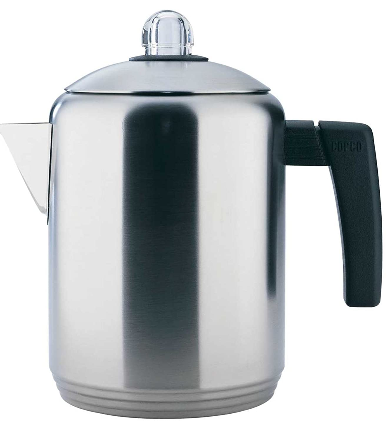Copco 4- to 8-Cup Polished Stainless Steel Stovetop Percolator, 1.5 Quart 2501-9907