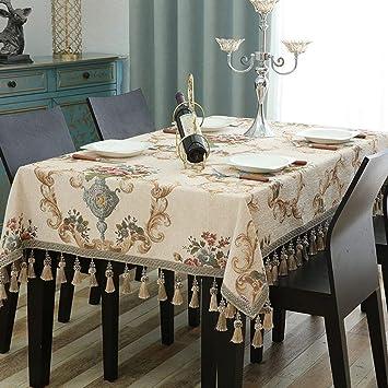Amazon Com Jffffwi Shape Of Rectangular Table Cloth Tablecloths