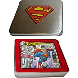 Superman Comic Book Wallet in a Gift Box Tin