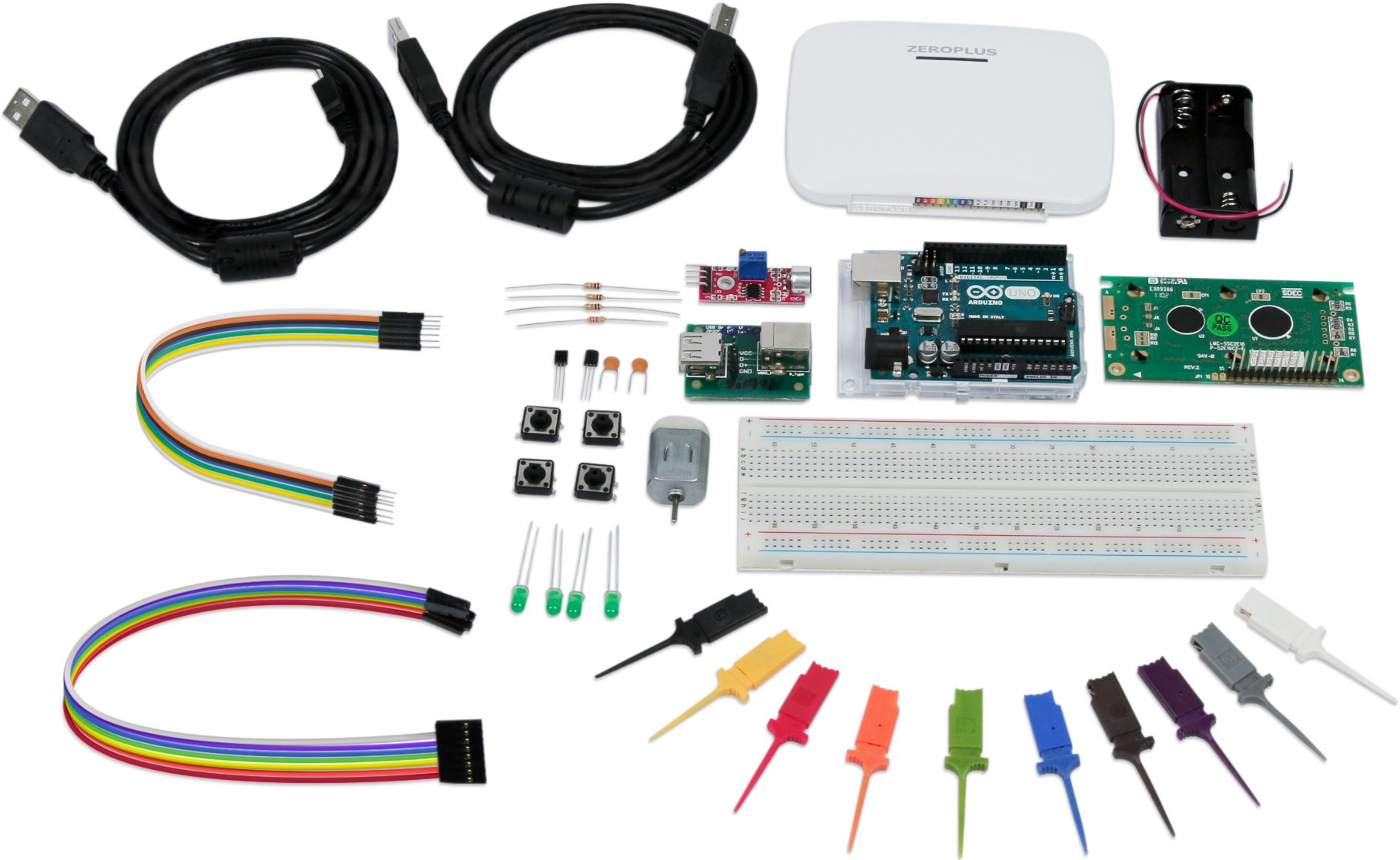 Zeroplus Arduino Starter Kit with Logic Analyzer