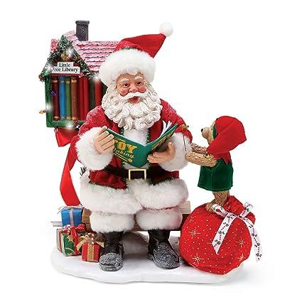 084e7924f1c Amazon.com  Department56 Department 56 Santa a Little Reading Break ...
